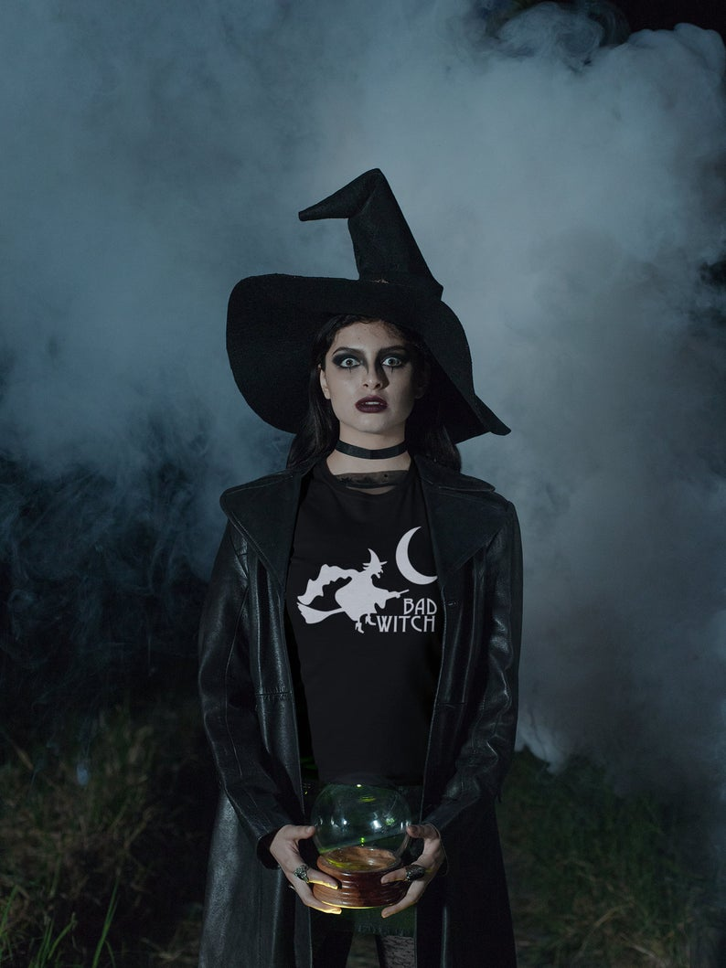 etsy, halloween costume, and halloween women tee image
