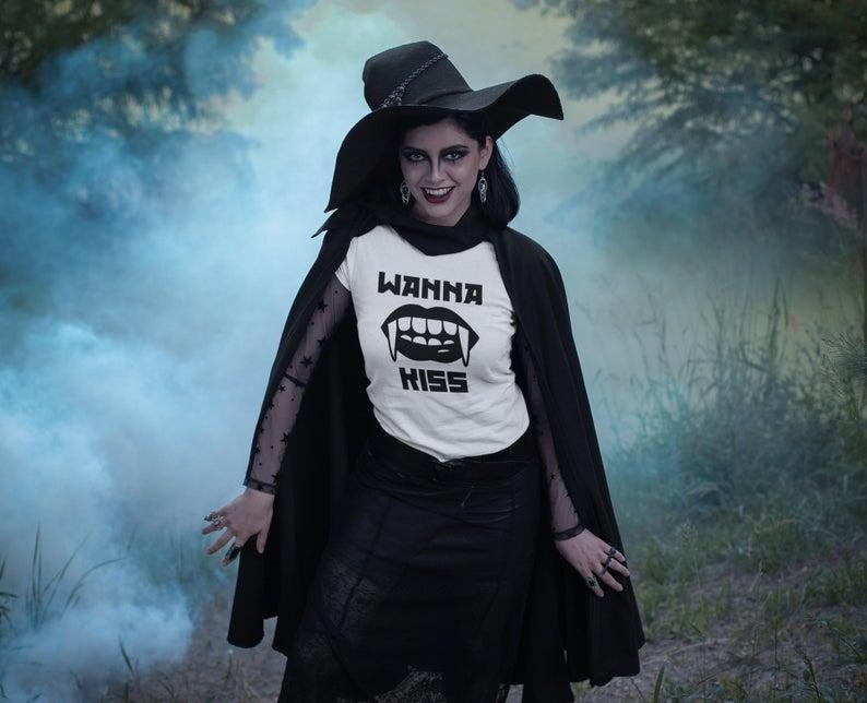 etsy, halloween costume, and vampire costume image