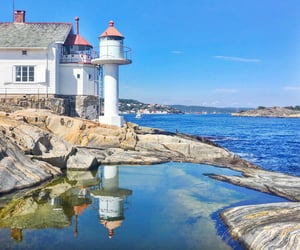 beauty, lighthouse, and norway image