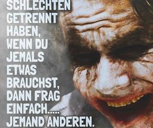 deutsch, schlecht, and joker image
