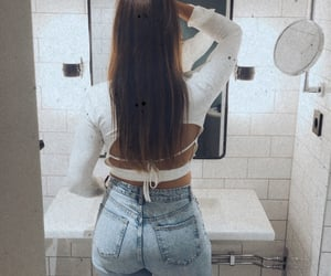 fashion, jeans, and ootd image