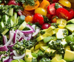food, healthy, and light image