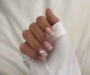 nails, aesthetic, and art image