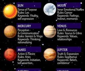 aesthetic, astrology, and horoscope image