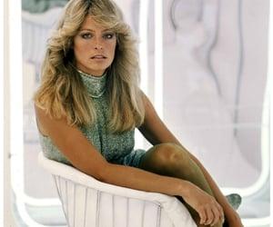 1970s, farrah fawcett, and hair image