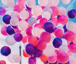 balloons, paris, and style image