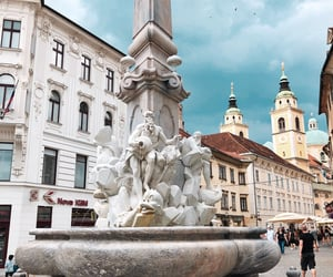europe, sculpture, and slovenia image