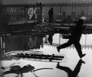 france, jump, and henri cartier-bresson image