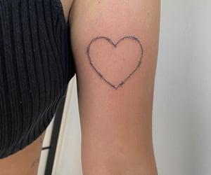 heart, tattoo, and tattooideas image