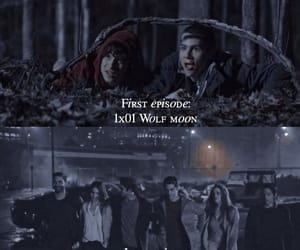 dylan, lydia, and teenwolf image