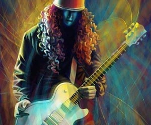 guitar, gibson, and legend image