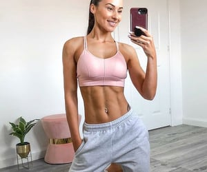 body, exercise, and fit image