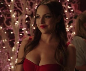 Queen, red, and elizabeth gillies image