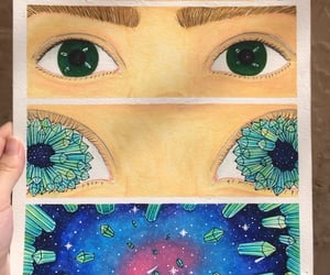 aesthetic, desenho, and space image
