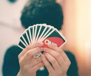 uno, boy, and cards image