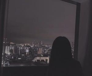 aesthetic, dark, and black image