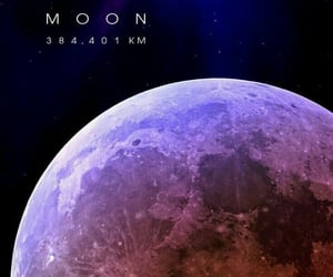 galaxia, luna, and moon image