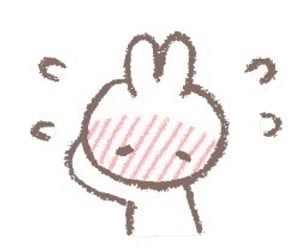 bunny, tumblr, and doodles image