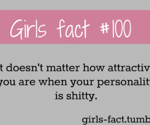 girl, quotes, and girls fact image