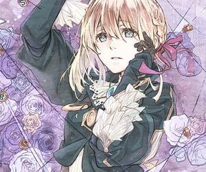 anime, violetevergarden, and animegirl image
