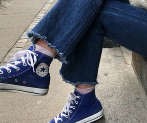 alternative, blue, and converse image