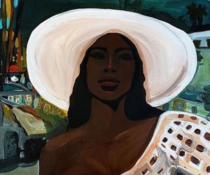 art, beach, and black image
