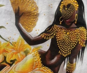 art, black people, and empress image