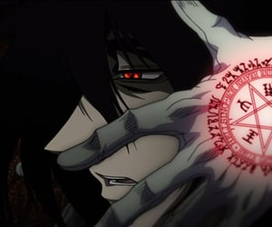 anime, blood, and hellsing image