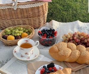 food, picnic, and tea image