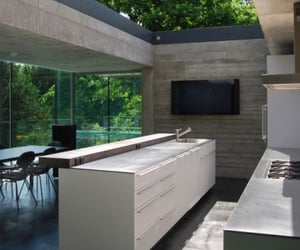 house, kitchen, and nature image