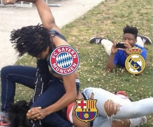 Barca, real madrid, and ️bayern image