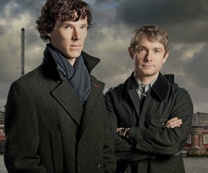 bbc, sherlock, and tv show image