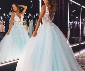 dresses, formal wear, and prom dress image