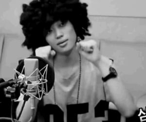 Afro, korean, and loco image