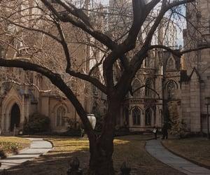 castle, dark, and private school image