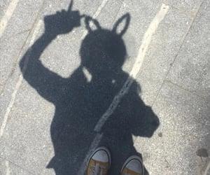 shadow, aesthetic, and girl image