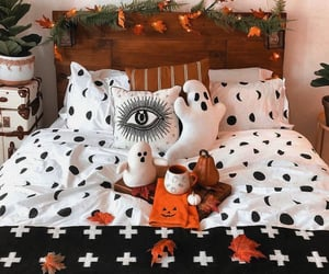 bedroom, autumn, and fall image