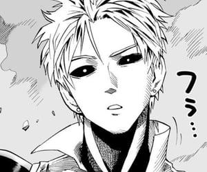 genos, one punch man, and manga image