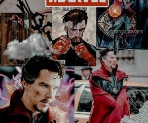Avengers, Marvel, and benedict cumberbath image