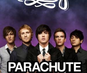 band, music, and parachute image