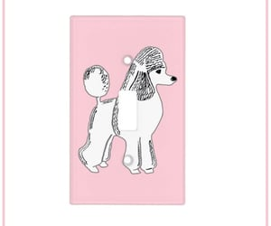 pink, cute, and poodle image