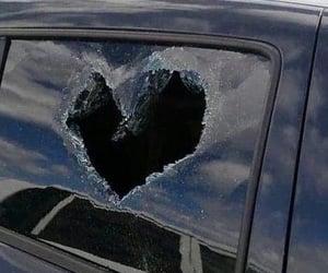 broken, heart, and aesthetic image