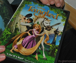 tangled, disney, and movie image