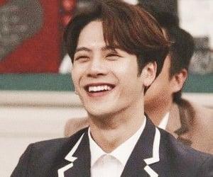 smile, jackson wang, and team wang image
