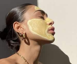 article, papaya, and skincare image