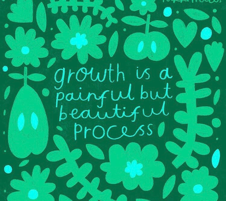 bravery, flowers, and growth image