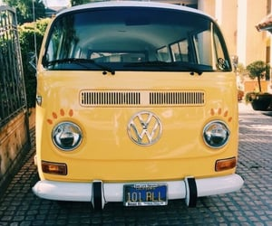 yellow, aesthetic, and car image