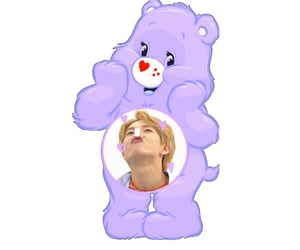 care bears, edit, and messy image