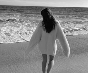 beach, fashion, and black image