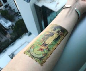 art, tattoo, and art history image